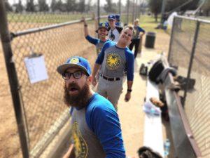 Agents of Shield softball team