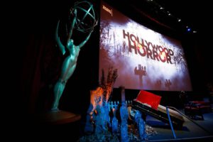 """General view at the membership event, """"Hollywood Horror: Scaring Up an Audience for Television,"""" at the Wolf Theatre at the Saban Media Center at the Television Academy on Tuesday, October 29, 2019, in Los Angeles. (Photo by Danny Moloshok/Invision for The Television Academy/AP Images)"""