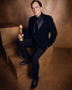 Quentin Tarantino, Photo by Alexi Lubomirski