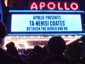 Ta-Nehisi Coates' Between the World and Me at the Apollo Photo Credit: Courtesy of HBO