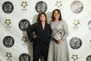 L-R: Amy Pascal and Victoria Alonso