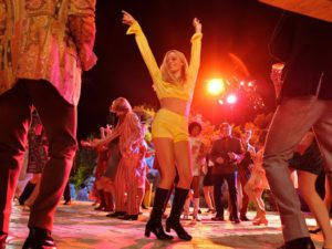 Margot Robbie in the film Once Upon A Time In Hollywood
