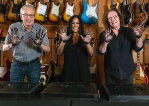 L-R: Don Lombardi, Sheila Escovedo & John Good