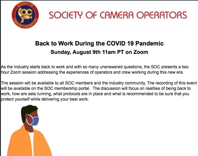 Society Camera Operators