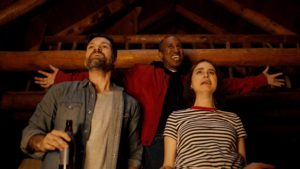 Josh Ruben, Chriss Redd and Aya Cash (Photo: Shudder)