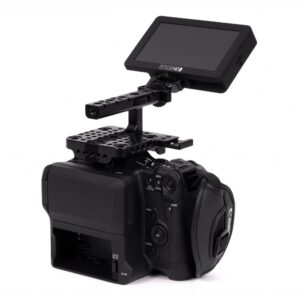 Canon C70 with Wooden Camera Monitor Hinge