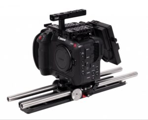 Canon C70 with Wooden Camera Pro V Mount