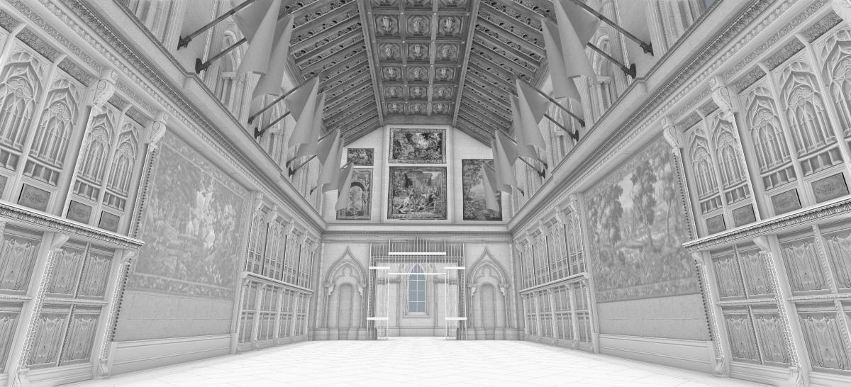 San Simeon Dining Hall VFX