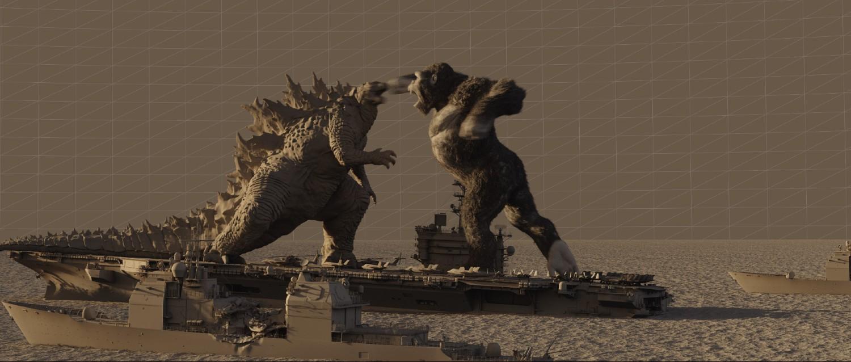 Godzilla vs. Kong - flowline pass
