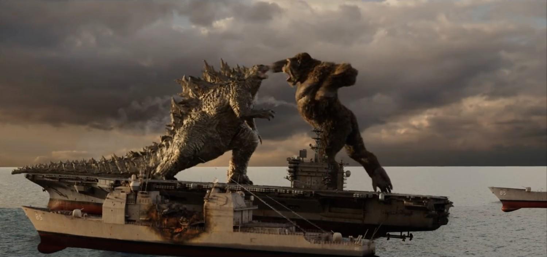 Godzilla - in progression comp minus fx elements