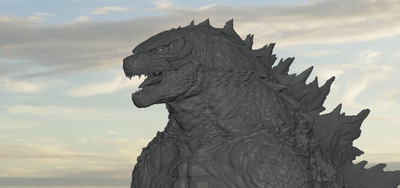 Godzilla - final animation pass