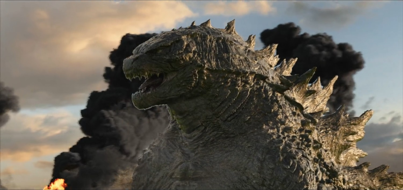 Godzilla - in progression comp with smoke fx elements