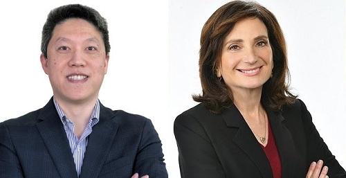 Jason Yang and Helen Packer