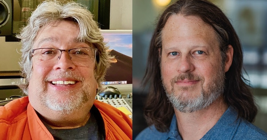 Bob Pomann (L), Chris Peterson (R)