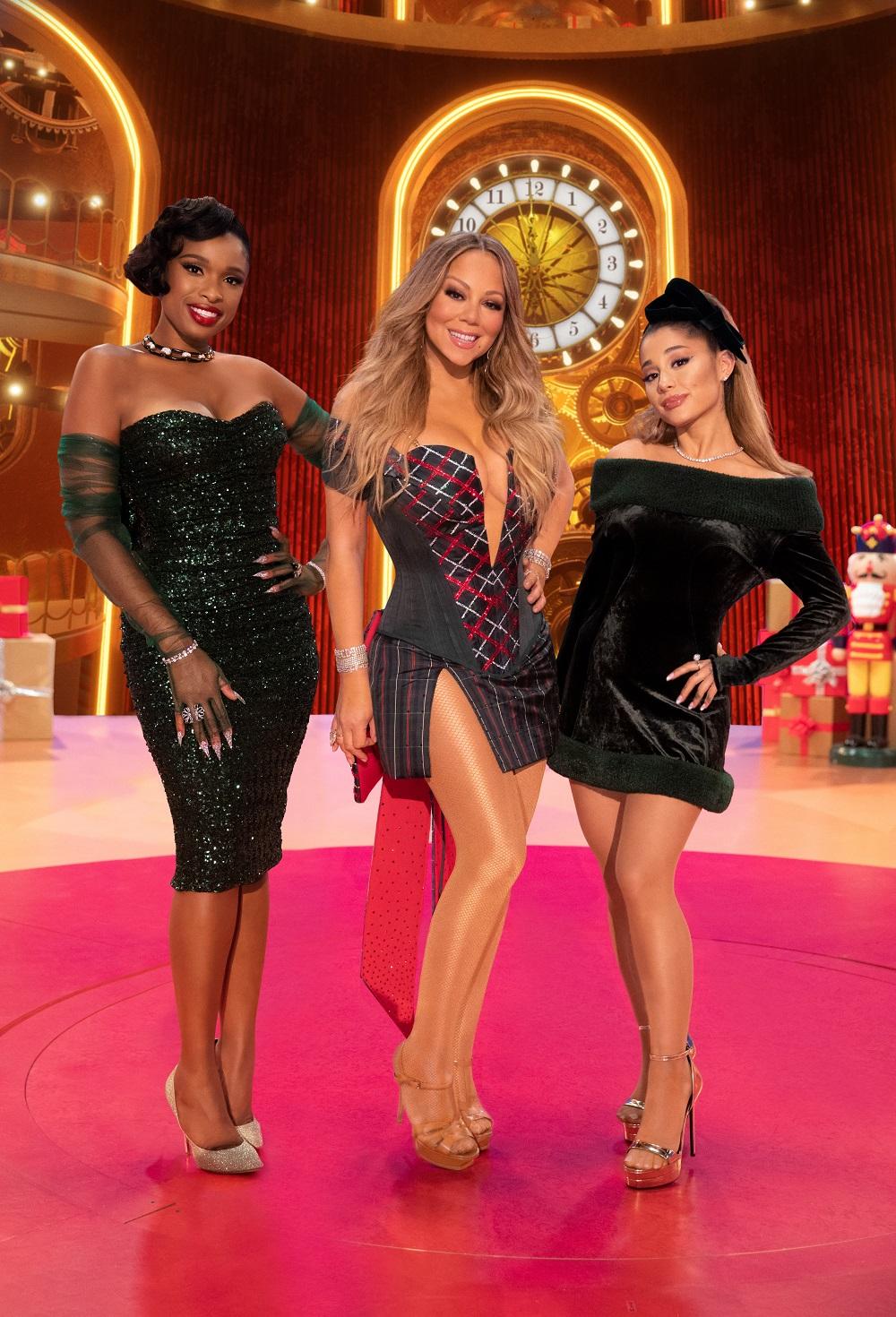 Jennifer Hudson, Mariah Carey, and Ariana Grade