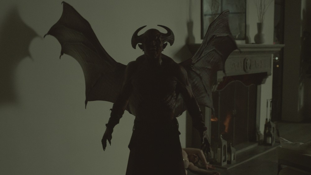 Demon B'Lal with VFX wings