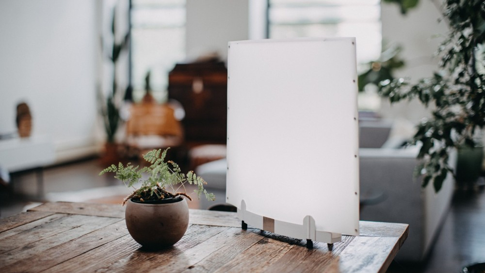 EGO LED in use at home