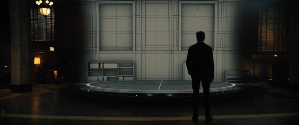 CG background environment