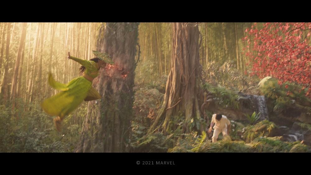 Shang-Chi - Wenwu vs. Xiang Li battle final comp